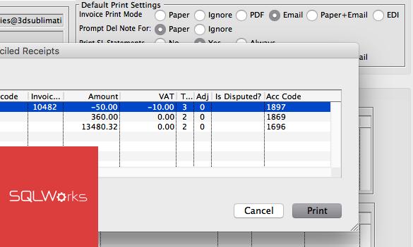 bulk invoicing